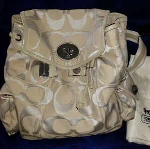COACH Backpack ~Authenic